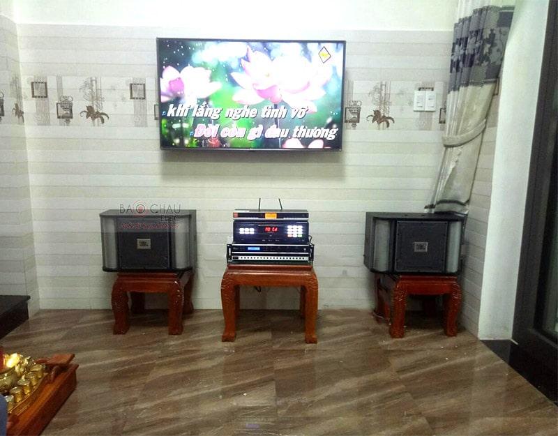 dàn karaoke JBL cho gia đình anh Ngọc ở Hà Huy Tập h4