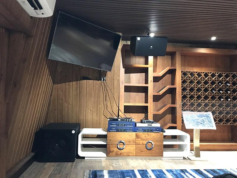 Dàn karaoke JBL VIP cho gia đình anh Khải ở An Giang h6