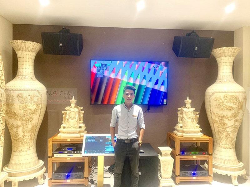 Dàn karaoke JBL VIP cho gia đình anh Hà ở HCM h7