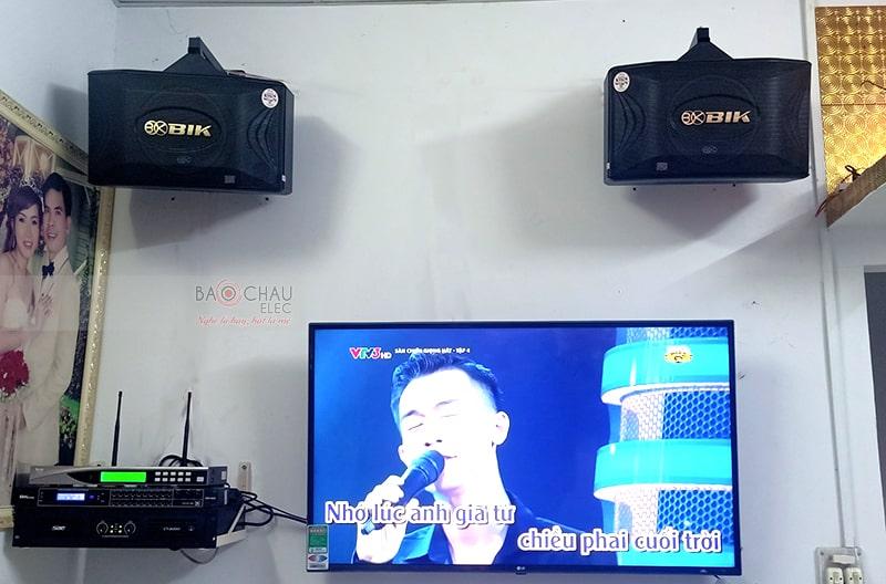 Dàn karaoke gia đình anh Hiệp ở Bình Chánh h4