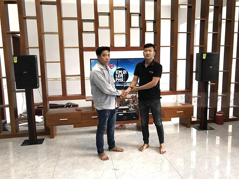 Dàn karaoke cao cấp cho gia đình chị Hoa ở Đồng Nai h6
