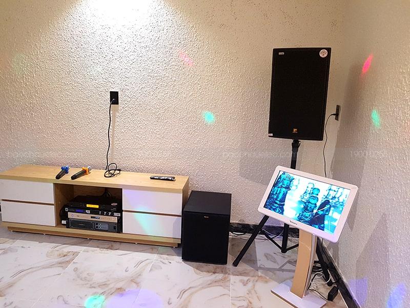 Bộ dàn karaoke của gia đình anh Nghi ở Quận 2 h2