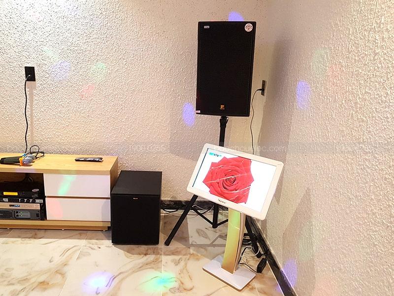 Bộ dàn karaoke của gia đình anh Nghi ở Quận 2 h5
