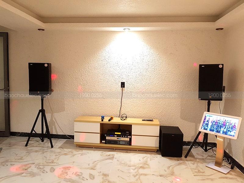 Bộ dàn karaoke của gia đình anh Nghi ở Quận 2 h6