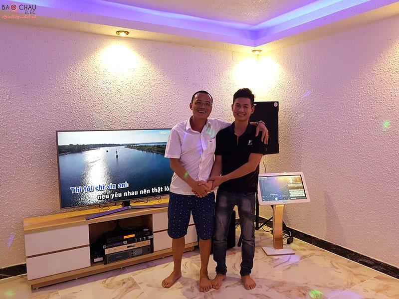 Bộ dàn karaoke của gia đình anh Nghi ở Quận 2 h7