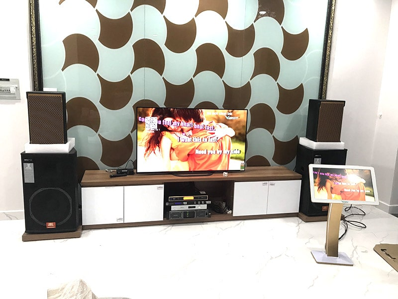 Dàn karaoke gia đình anh Vũ ở Quận 9, HCM h4