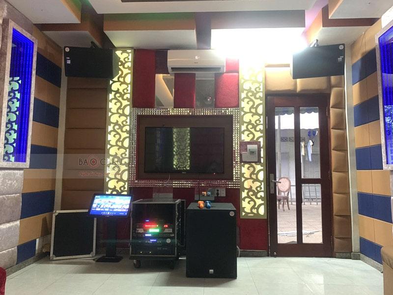 Lắp đặt hệ thống 16 phòng hát karaoke Thảo Nguyên h9