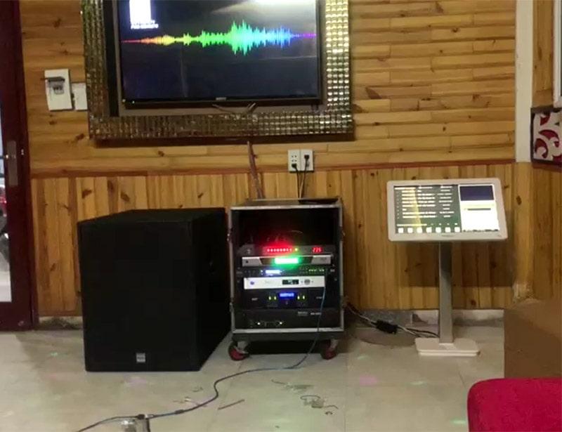 Lắp đặt hệ thống 16 phòng hát karaoke Thảo Nguyên h5