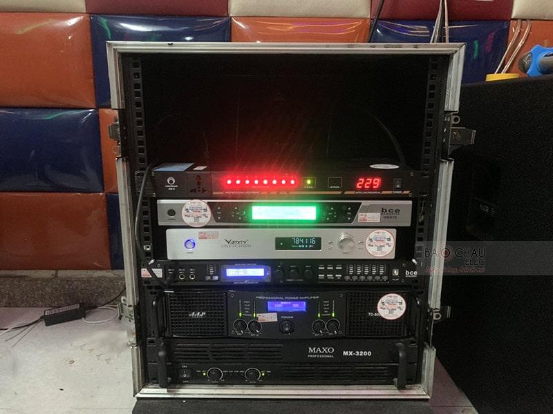 Lắp đặt hệ thống 16 phòng hát karaoke Thảo Nguyên h3