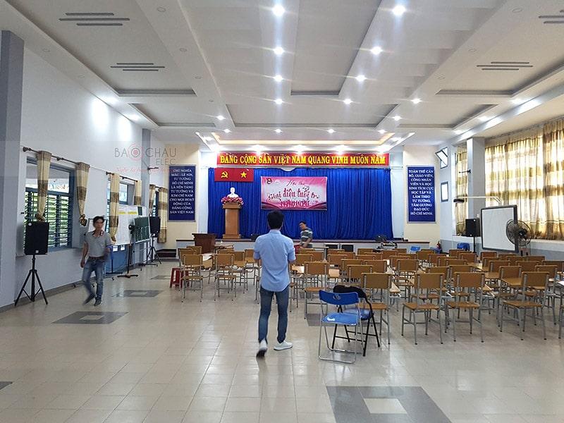 dàn âm thanh hội trường cho công ty tin học Xuân bách ở HCM h4