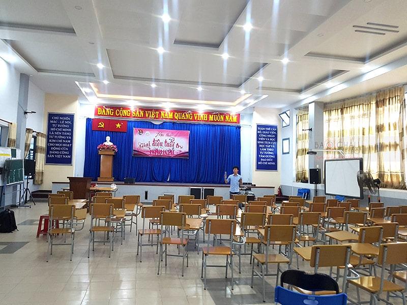 dàn âm thanh hội trường cho công ty tin học Xuân bách ở HCM h6