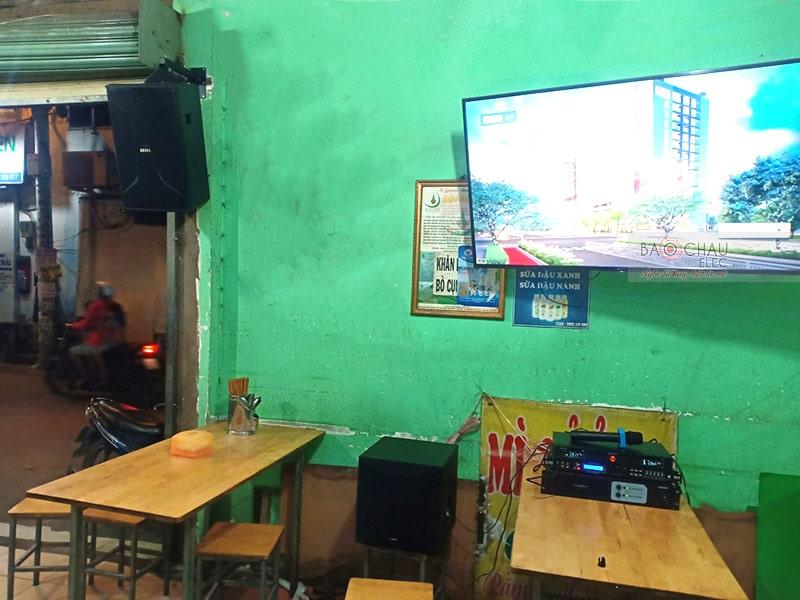Dàn karaoke BIK cho gia đình anh Thanh ở Quận 12  h5