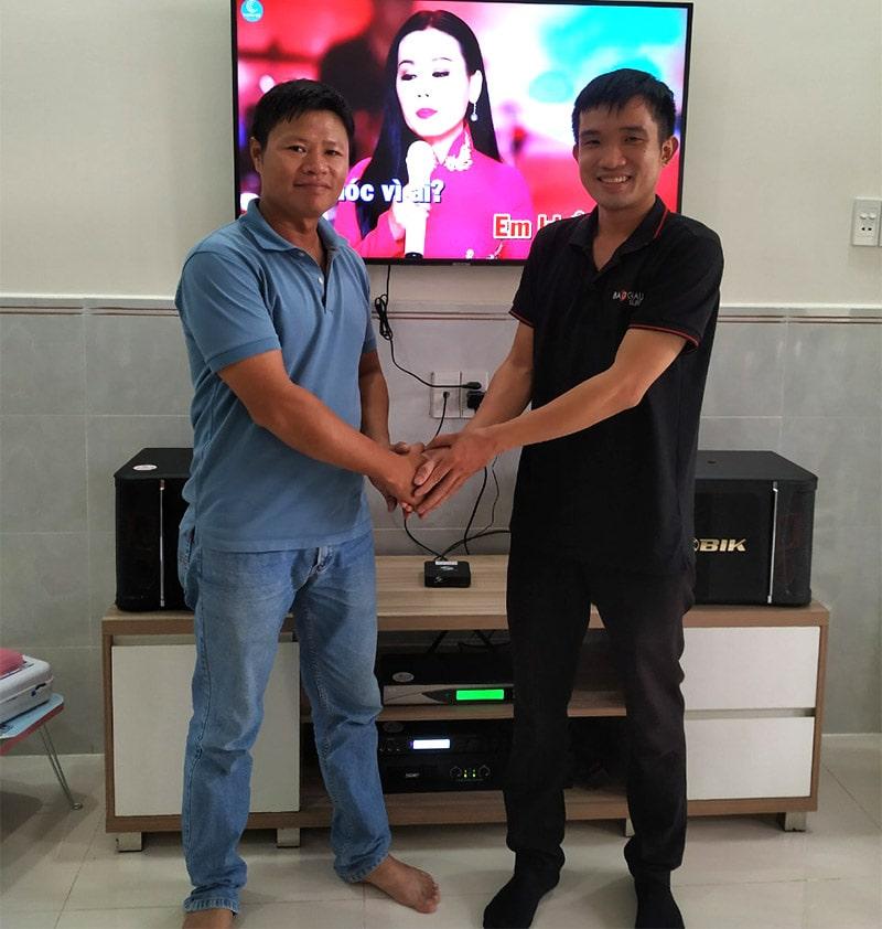 Dàn karaoke BIK cho gia đình anh Dũng ở Hooc Môn h4