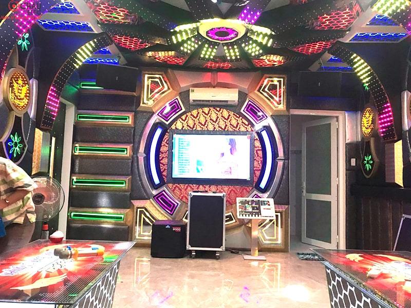 Lắp đặt 4 phòng hát karaoke kinh doanh cho quán karaoke Bình Nguyên ở Nha Trang
