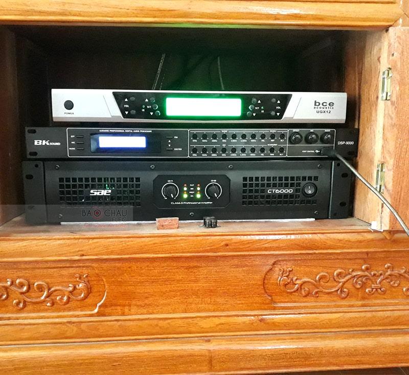 Dàn karaoke Alto cho gia đình anh Quỳnh ở Hải Dương h3