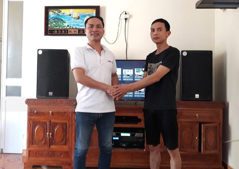 Dàn karaoke Alto cho gia đình anh Quỳnh ở Hải Dương h5