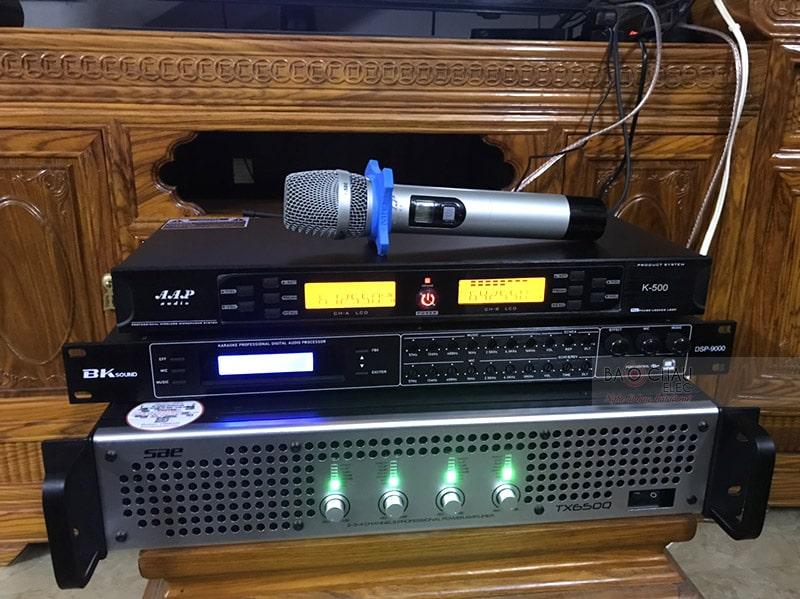 Dàn karaoke Alto của gia đình anh Hiệp ở Thái Nguyên h3