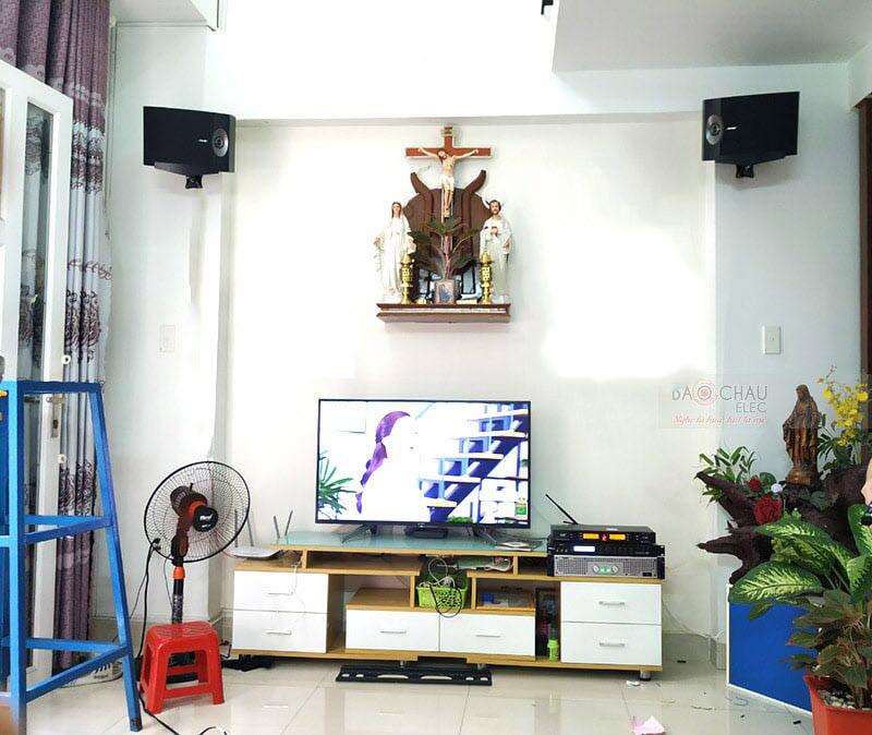 Dàn karaoke gia đình chị Trang tại Tp HCM