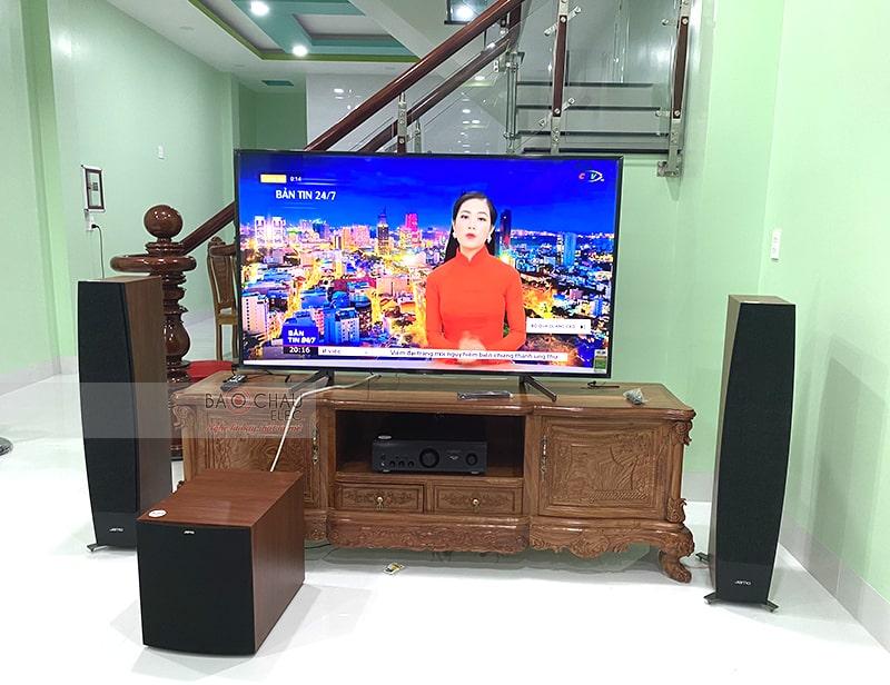 Dàn nghe nhạc Jamo cao cấp của anh Tâm tại Tiền Giang