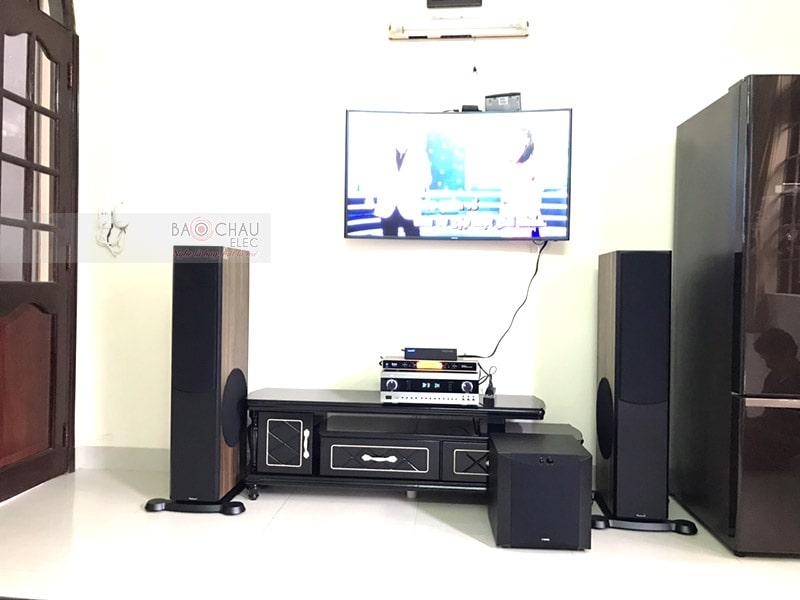 Dàn karaoke cao cấp cho gia đình anh Thuận ở Vũng Tàu h4