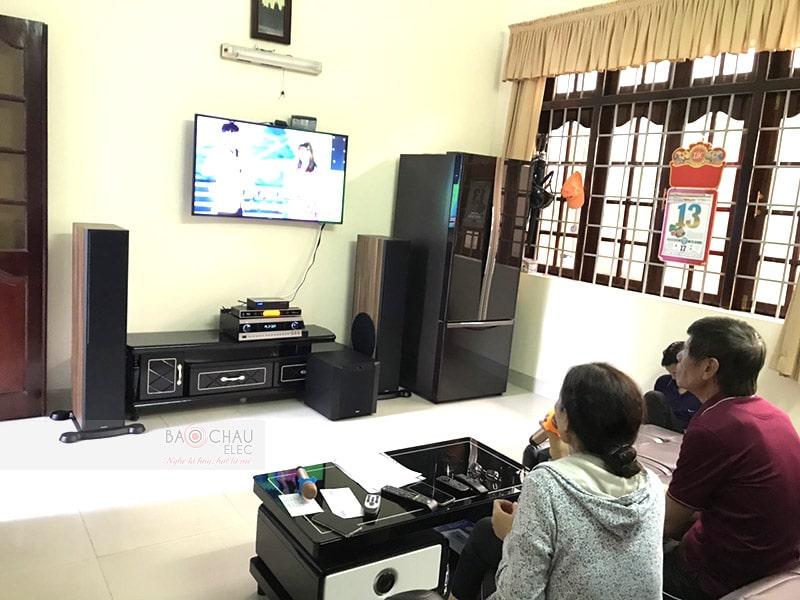 Dàn karaoke cao cấp cho gia đình anh Thuận ở Vũng Tàu h5