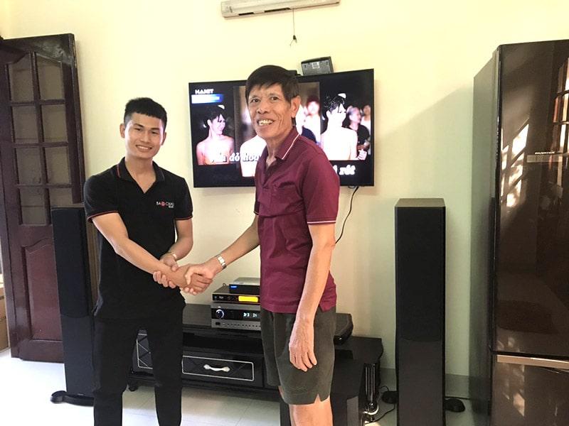 Dàn karaoke cao cấp cho gia đình anh Thuận ở Vũng Tàu h6