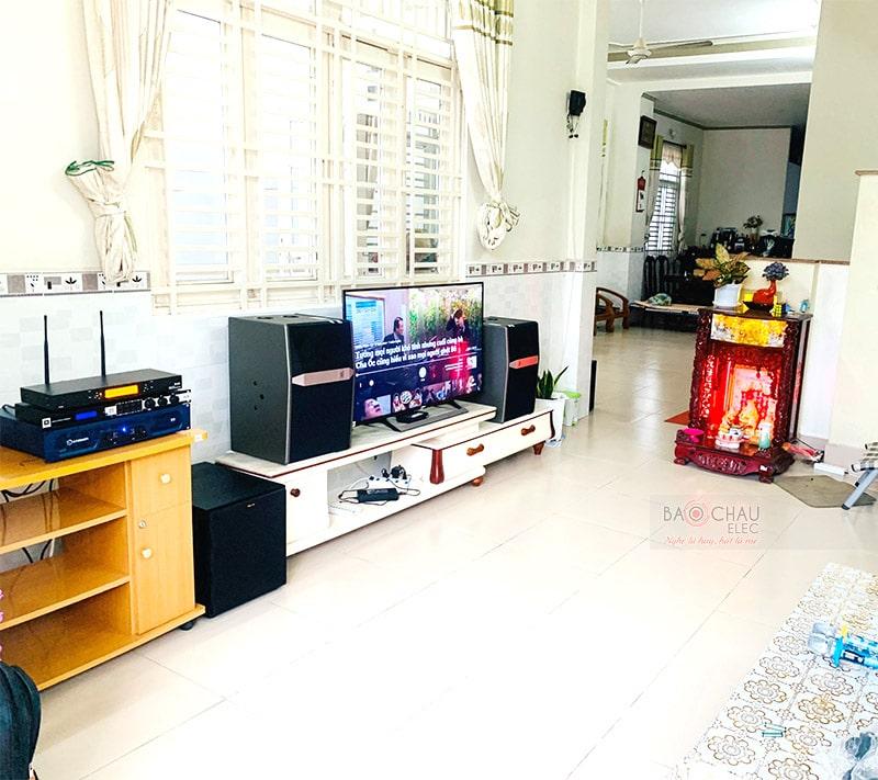Dàn karaoke JBL cao cấp cho gia đình anh Thiện ở Ninh Kiều h5