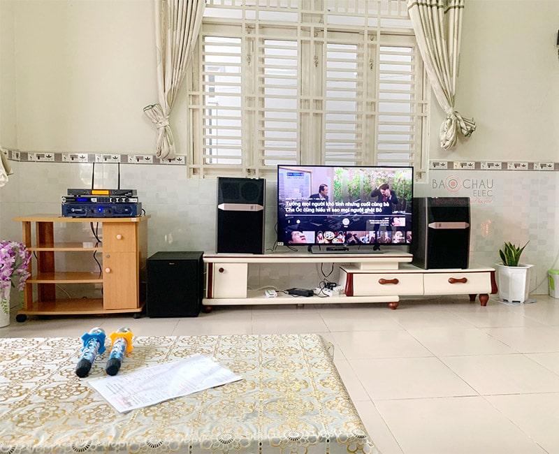Dàn karaoke JBL cao cấp cho gia đình anh Thiện ở Ninh Kiều h6