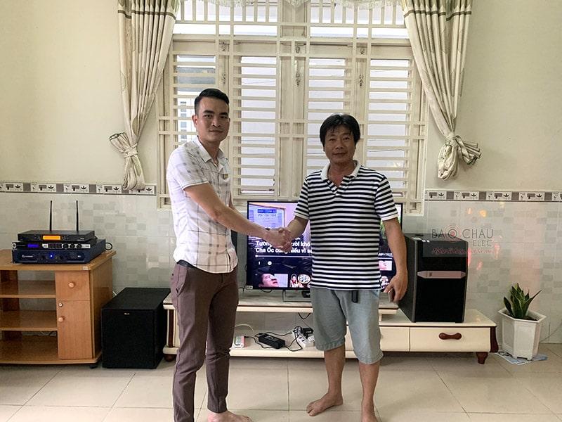 Dàn karaoke JBL cao cấp cho gia đình anh Thiện ở Ninh Kiều h7