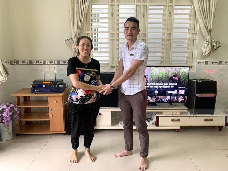 Dàn karaoke JBL cao cấp cho gia đình anh Thiện ở Ninh Kiều h8