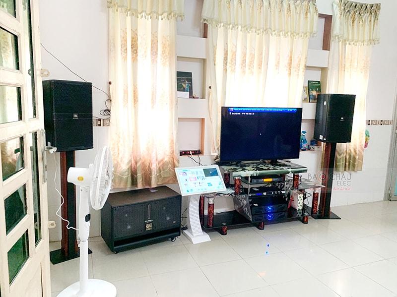 Dàn karaoke JBL VIP của gia đình anh Đăng ở Phong Điền h5