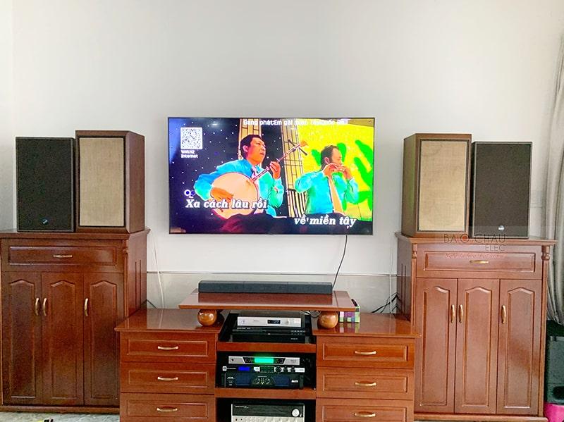 Dàn karaoke Alto cực hay cho gia đình anh Hiền ở Ninh Kiều h3