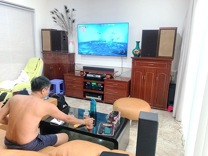 Dàn karaoke Alto cực hay cho gia đình anh Hiền ở Ninh Kiều h4
