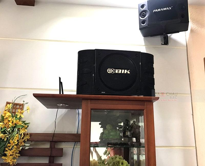 Loa karaoke BIK BS999X đặt kệ tủ gia đình