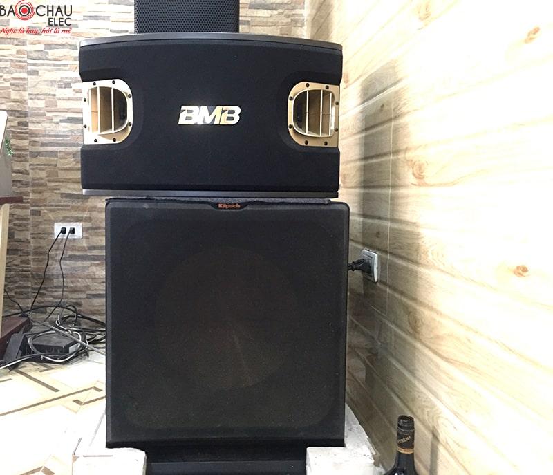 Loa BMB 900se và loa JBL 6012 lắp đặt cho quán cafe