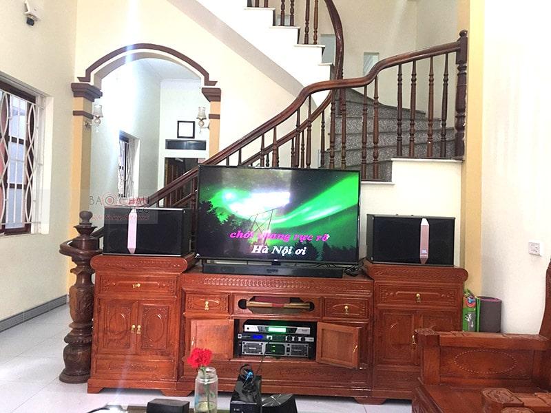 Dàn karaoke JBL cho gia đình anh Quỳnh ở Mỹ Đức h5