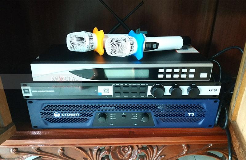 Dàn karaoke Bose cho gia đình anh Hảo ở Nam Định h3