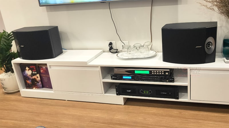 Bộ dàn karaoke Bose lắp đặt ở Vinhome SkyLake
