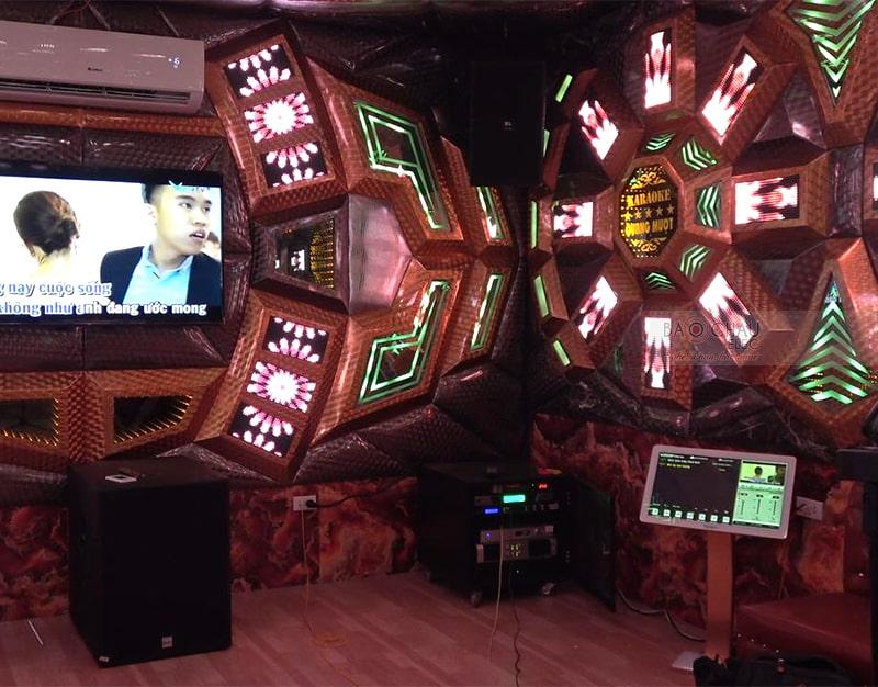 Lắp đặt bộ dàn karaoke kinh doanh cao cấp cho quán karaoke Quang Mượt ở Quảng Ninh