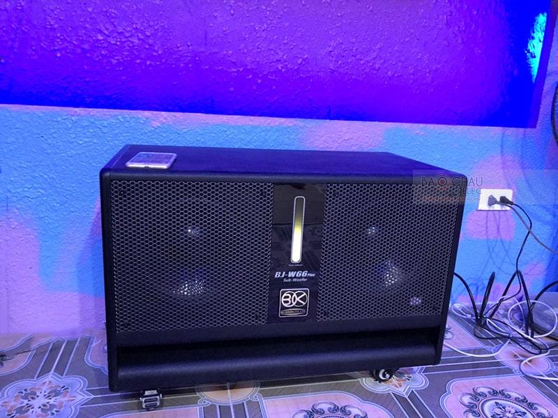 Bộ dàn karaoke cao cấp cho gia đình chú Chiến ở Hoài Đức h2
