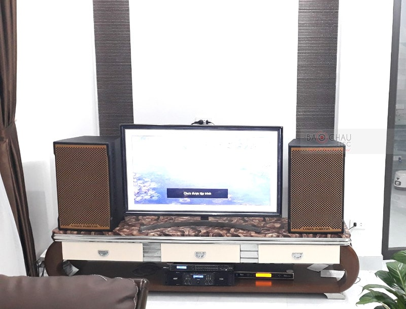 Dàn karaoke cao cấp cho gia đình anh Hiếu ở Hải Phòng h4