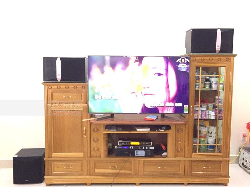 Bộ dàn karaoke gia đình chú Tuấn tại Hải Phòng