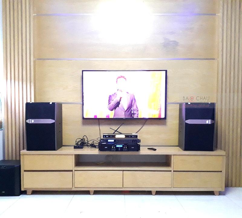 dàn karaoke JBL cho gia đình anh Đoàn ở Hải An h4