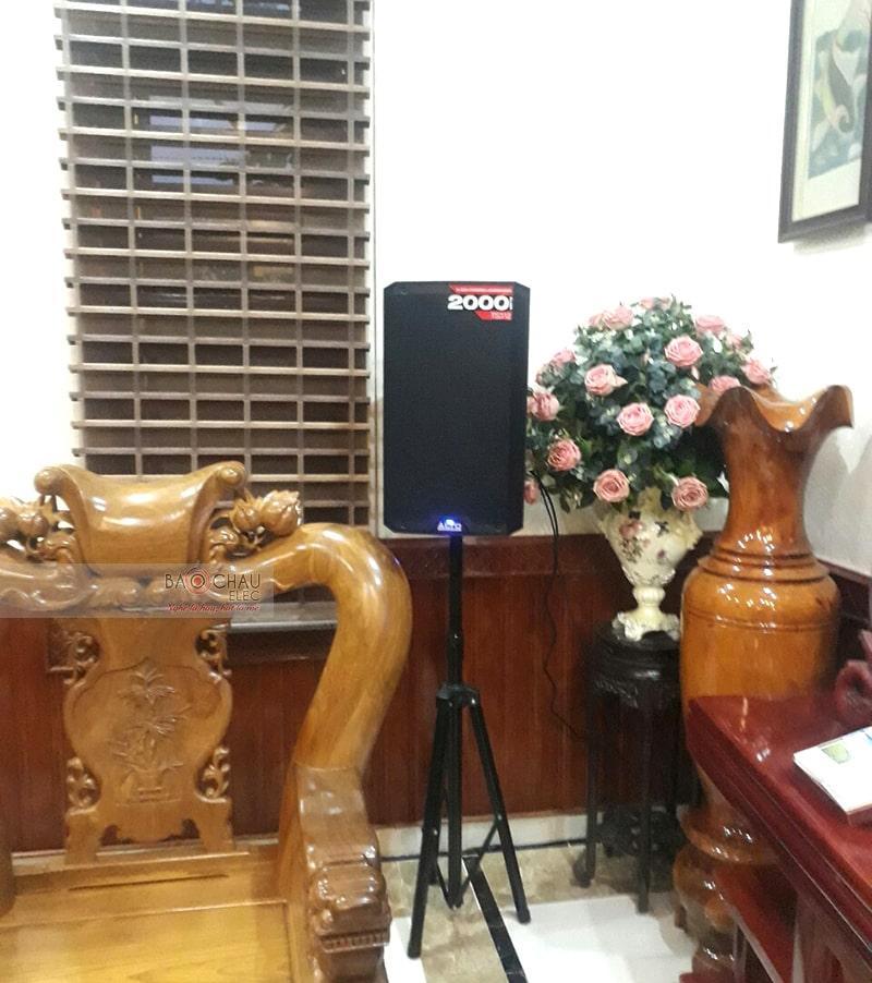 Dàn karaoke gia đình chị Thoa ở Đông Vệ, Thanh Hóa h2