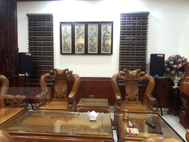 Dàn karaoke gia đình chị Thoa ở Đông Vệ, Thanh Hóa h4
