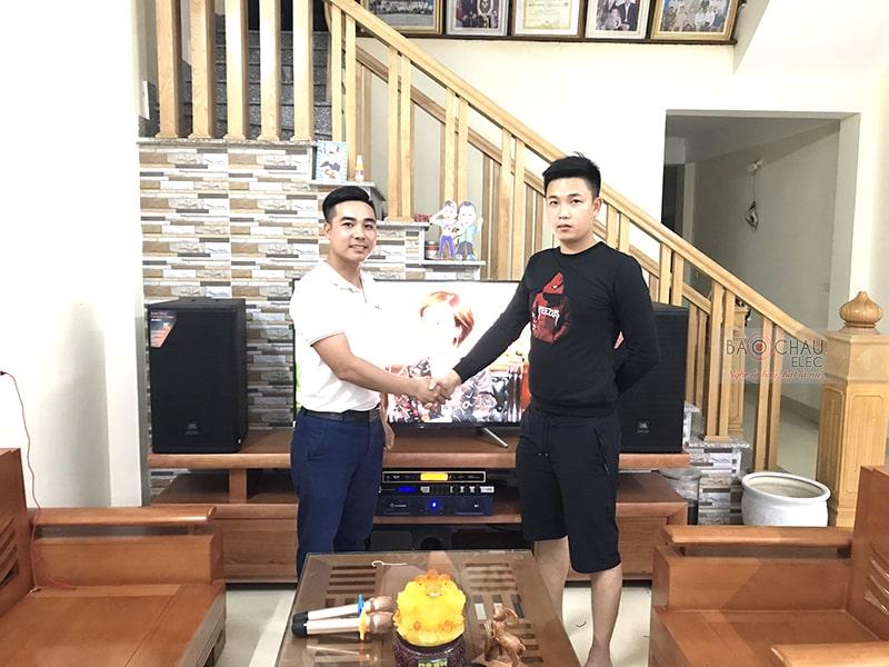 Dàn karaoke JBL cao cấp cho gia đình anh Nam ở Thanh Hóa h5