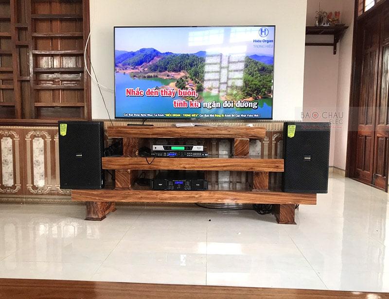 Dàn karaoke Domus cho gia đình anh Hè ở Thanh Hóa h6