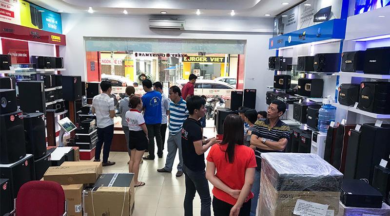 Cửa hàng bán thiết bị âm thanh tại Biên Hòa