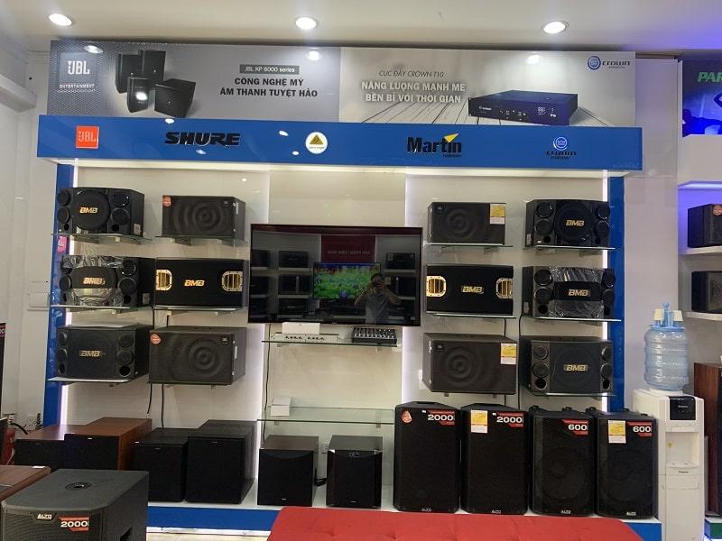 Cửa hàng bán thiết bị âm thanh chính hãng tại Biên Hòa