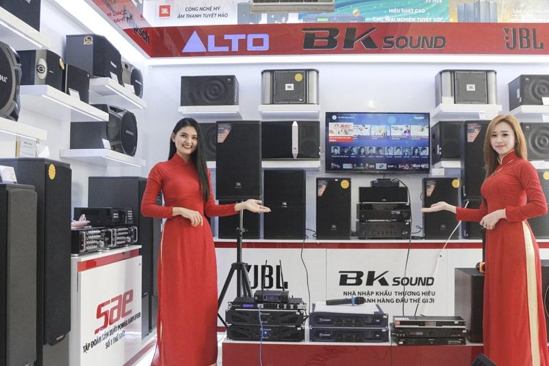 Cửa hàng bán loa bãi, loa karaoke chính hãng, uy tín giá tốt ở Đà Nẵng
